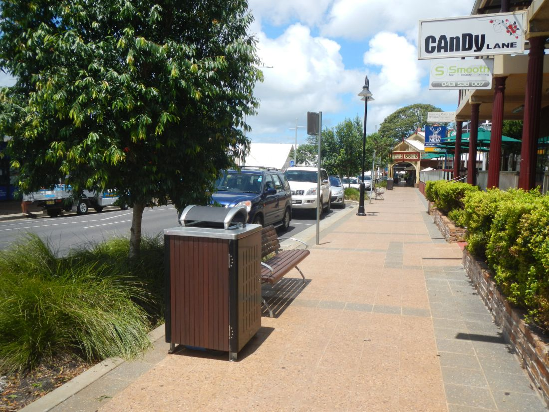 Projects Alstonville main street Landscape architecture