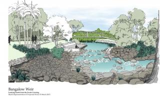 Bangalow Weir 1