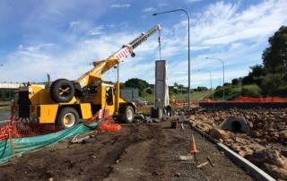 News Ballina Heights entry crane