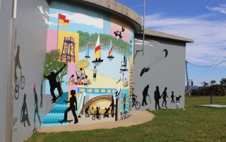Project Kings Court Reserve Mural