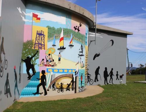 Kings Court Reserve Mural