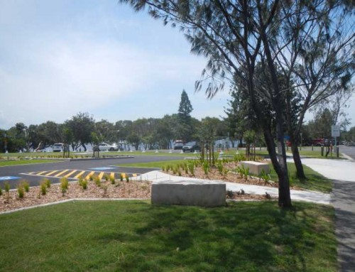 Lake Ainsworth Carpark Water Sensitive Design