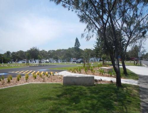 Lake Ainsworth Carpark Water Sensitive Design