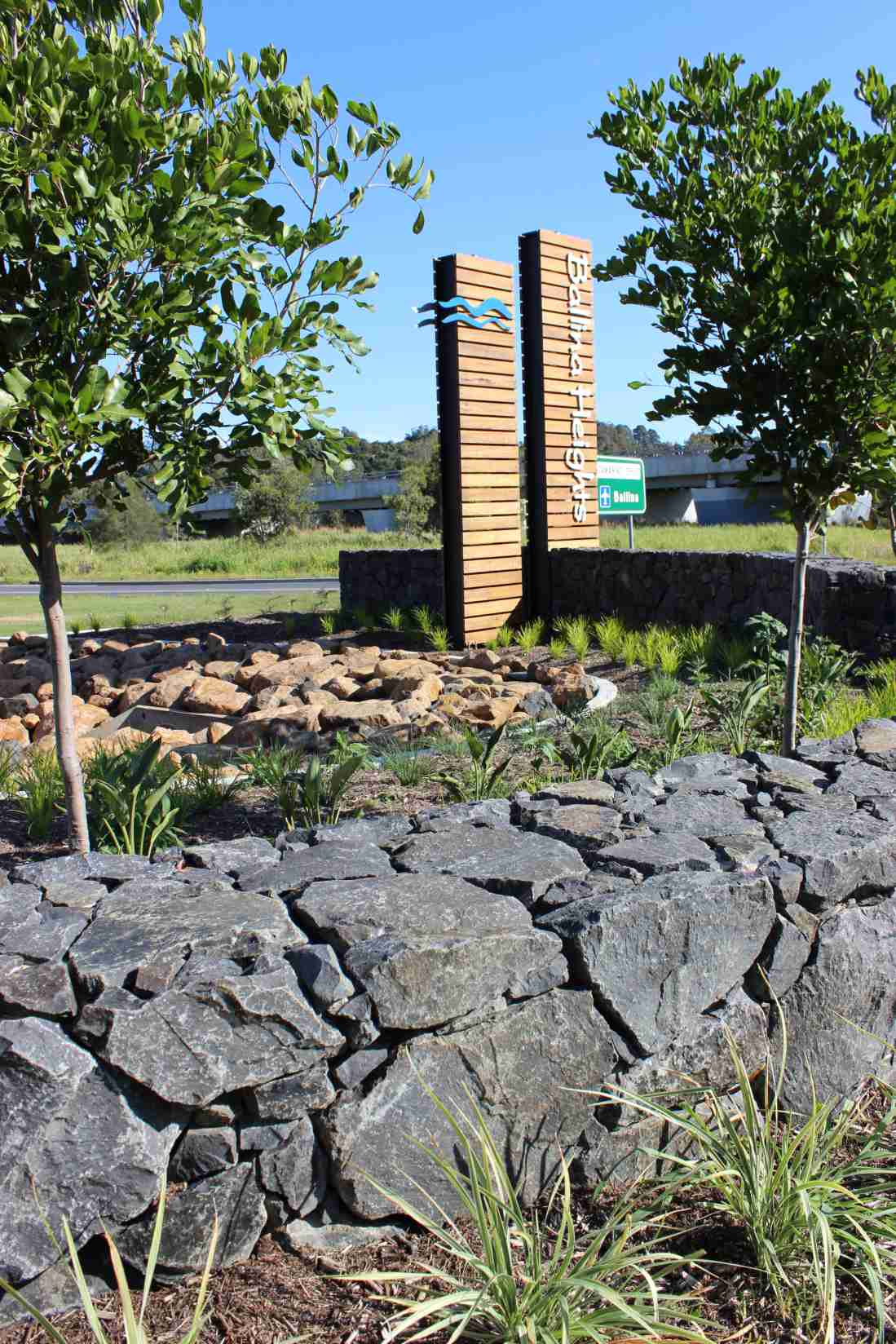 Ballina Heights Drive Lanscaping and Entry