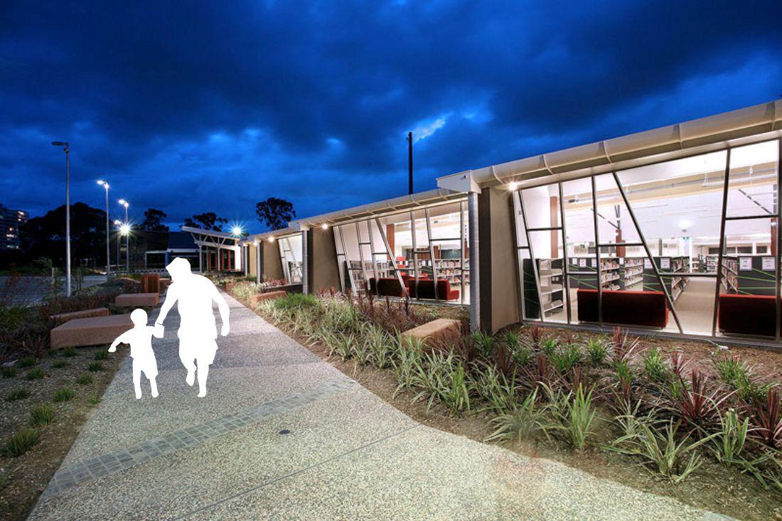 Broadbeach Library urban design concept