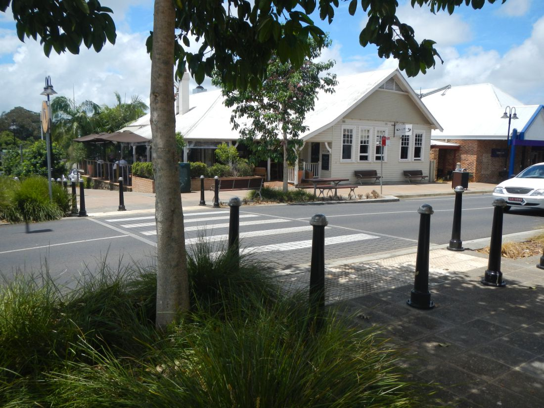 Projects Alstonville main street Lanscape architecture