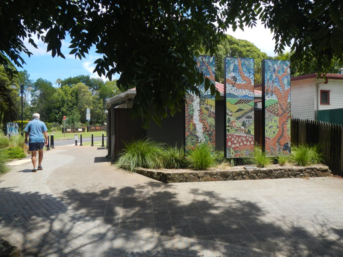 Projects Alstonville main street Landscape architecture