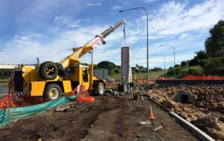 News Ballina Heights entry crane