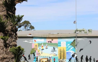 Kings Court Reserve Mural